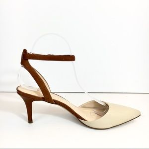 Banana republic ankle strap pump